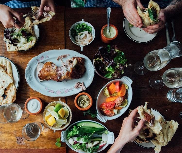 فرهنگ غذایی مردم مونترال