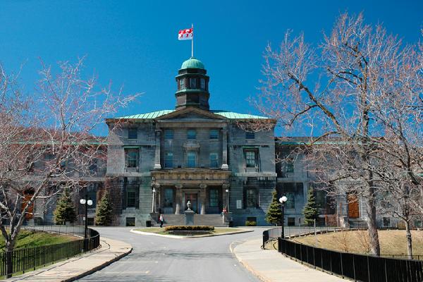 تاریخچه دانشگاه مک گیل کانادا