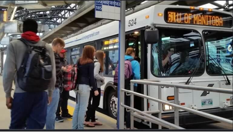 حمل و نقل عمومی در وینیپیگ