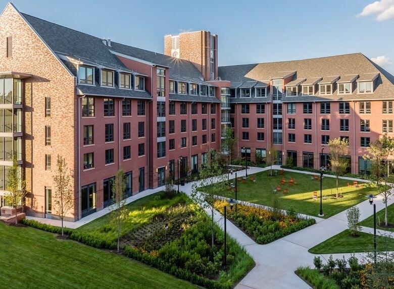 دانشکده ها و رشته های موجود در دانشگاه نیوبرانزویک