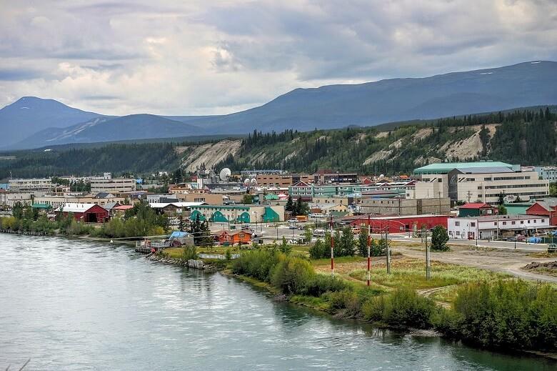مسیر مهاجرتی اقتصادی استان قلمروهای شمال شرقی کانادا