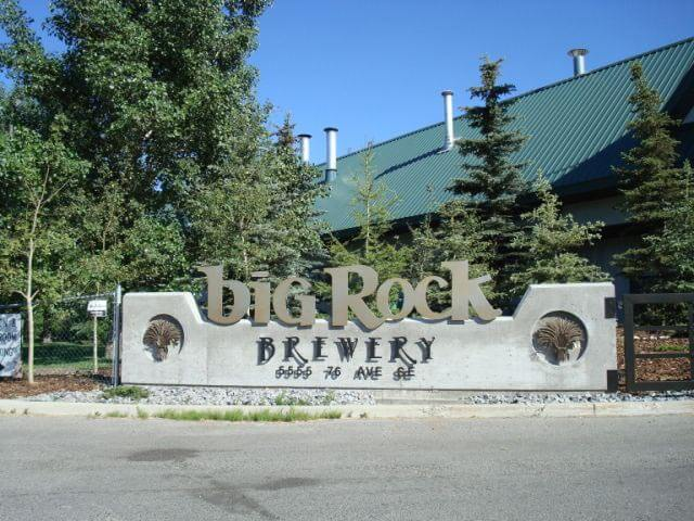 Big Rock Brewery canada