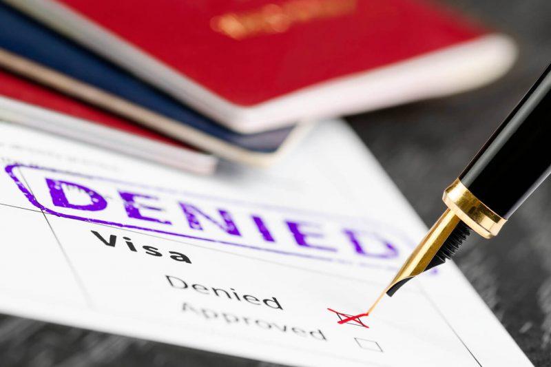 موارد ریجکتی ویزای کانادا