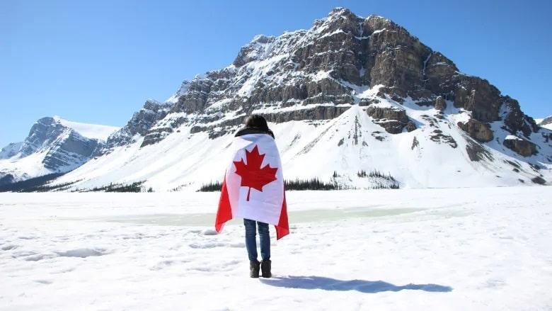 سرمای کانادا در فصل زمستان