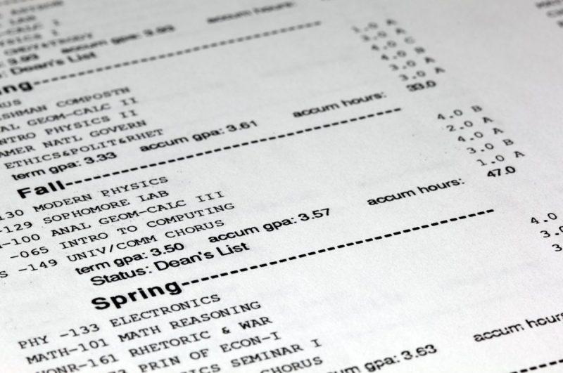 محاسبه GPA در کانادا در استان انتاریو