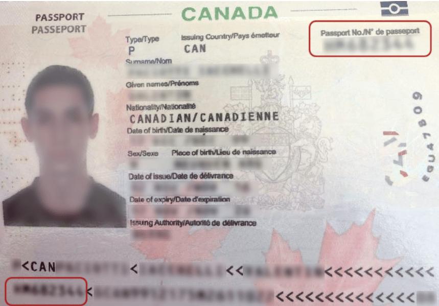 پاسپورت کانادایی