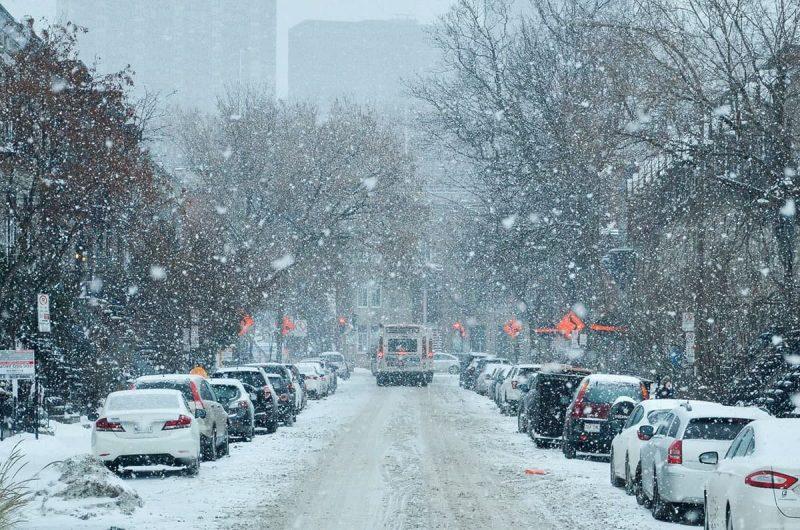 آب و هوای مونترل کانادا