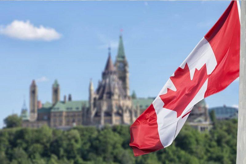 تاریخچه پرچم کانادا