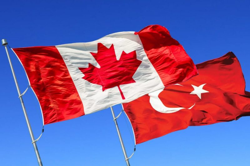 مقایسه ترکیه و کانادا از نظر جغرافیایی