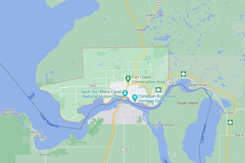 نقشه سو سنت ماری
