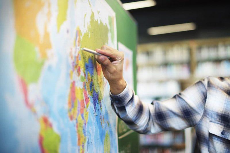 بازار کار رشته جغرافی در خارج از کشور
