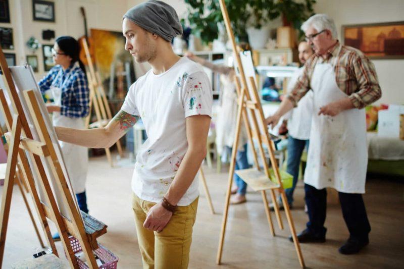 دانشگاه های برتر رشته نقاشی در خارج از کشور