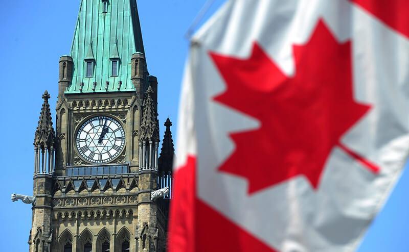 ساعت به وقت کانادا