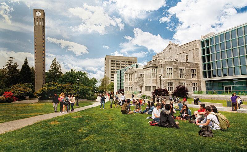 دانشگاه های ونکوور