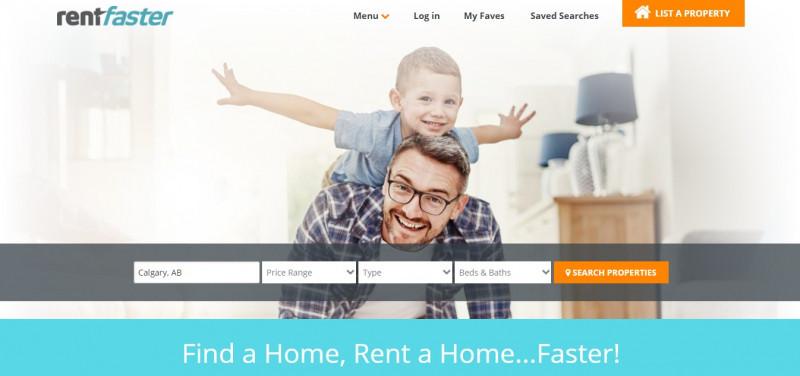 سایت RentFaster.ca برای اجاره خانه در کانادا
