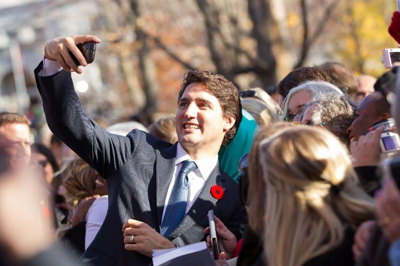 سلفی های نخست وزیر کانادا
