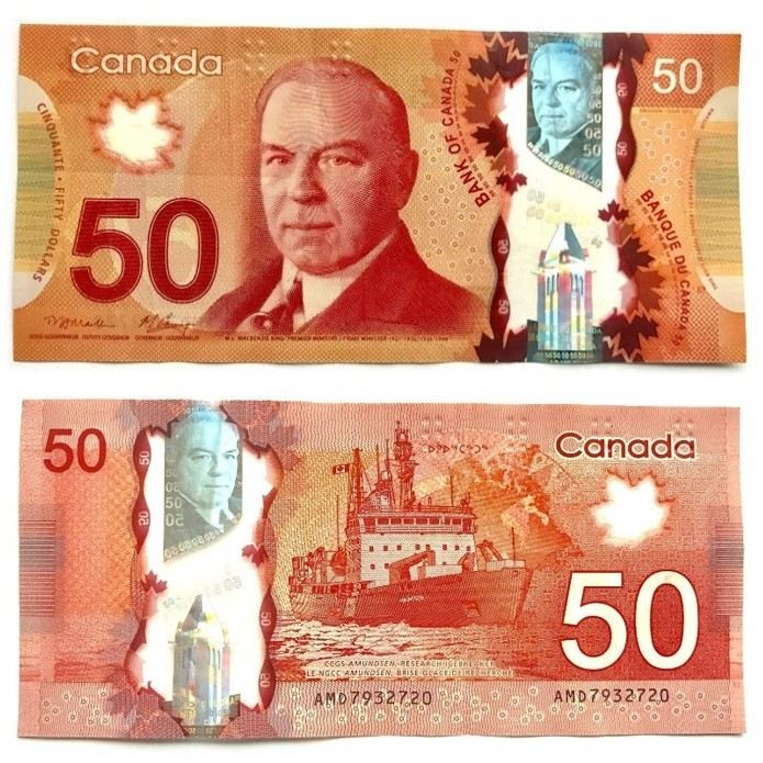 اسکناس 50 دلاری کانادا